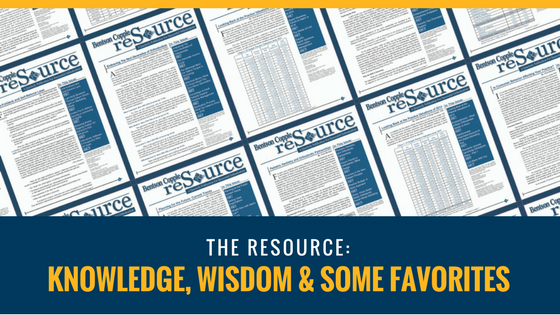 The Bentson Copple reSource Knowledge, Wisdom and Some Favorites