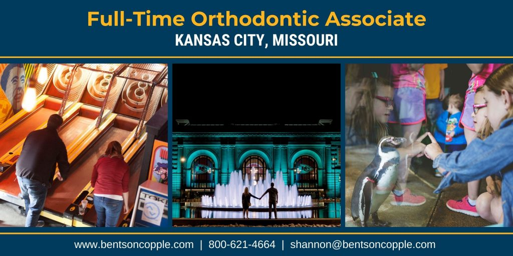Full-Time Orthodontic Associate needed in Kansas City, Missouri