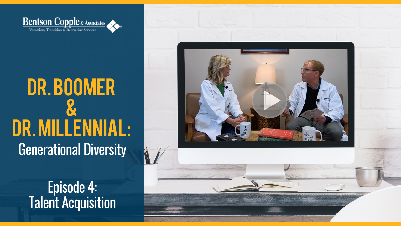 Dr. Boomer & Dr. Millennial: Generational Diversity Episode 4