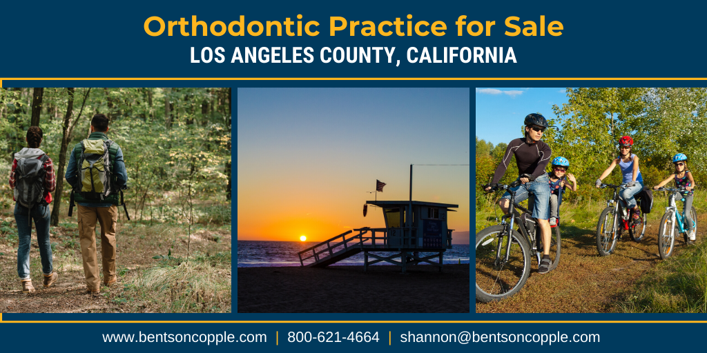 Bentson_Copple_Orthodontic Practice For Sale - Los Angeles County, California