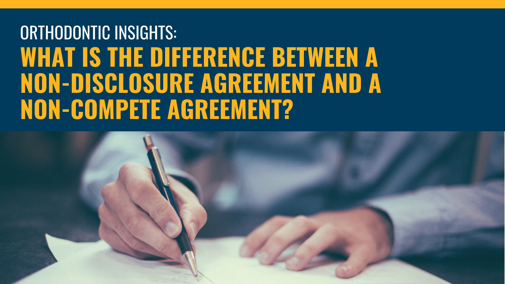 What Is the Difference Between a Non-Disclosure Agreement and a Non-Compete Agreement?