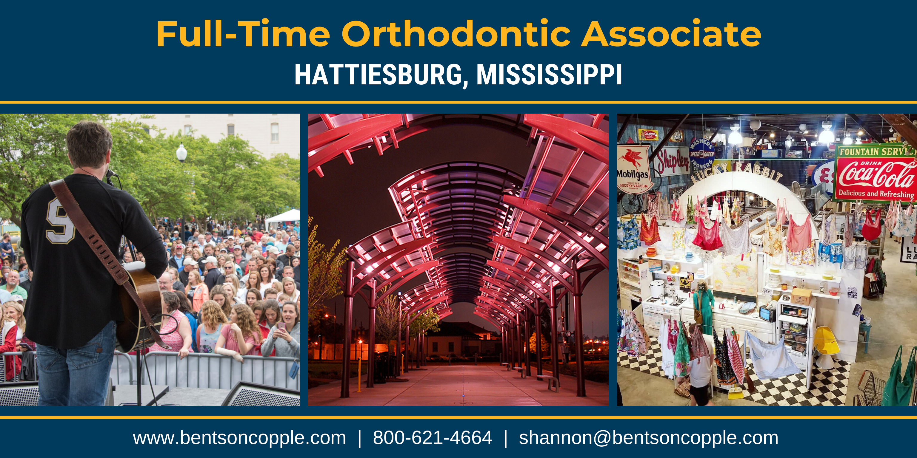 Full Time Orthodontic Job - Hattiesburg, Mississippi