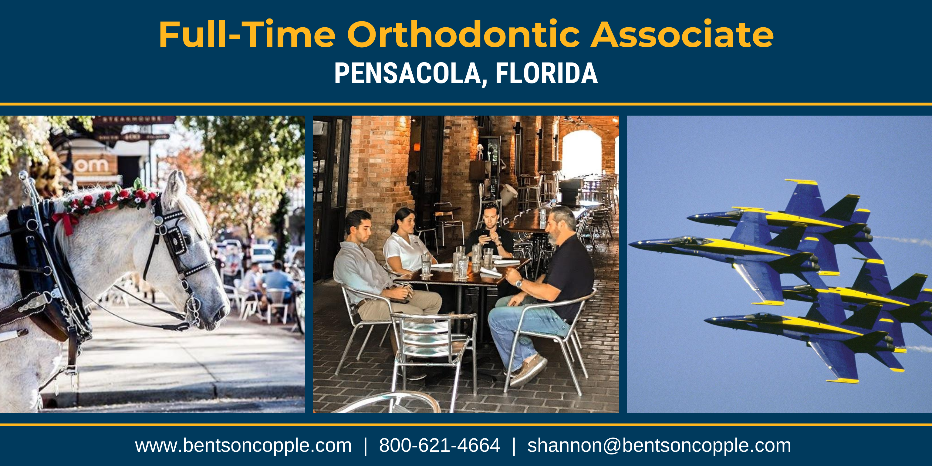 Full-Time Orthodontic Associate - Pensacola, Florida