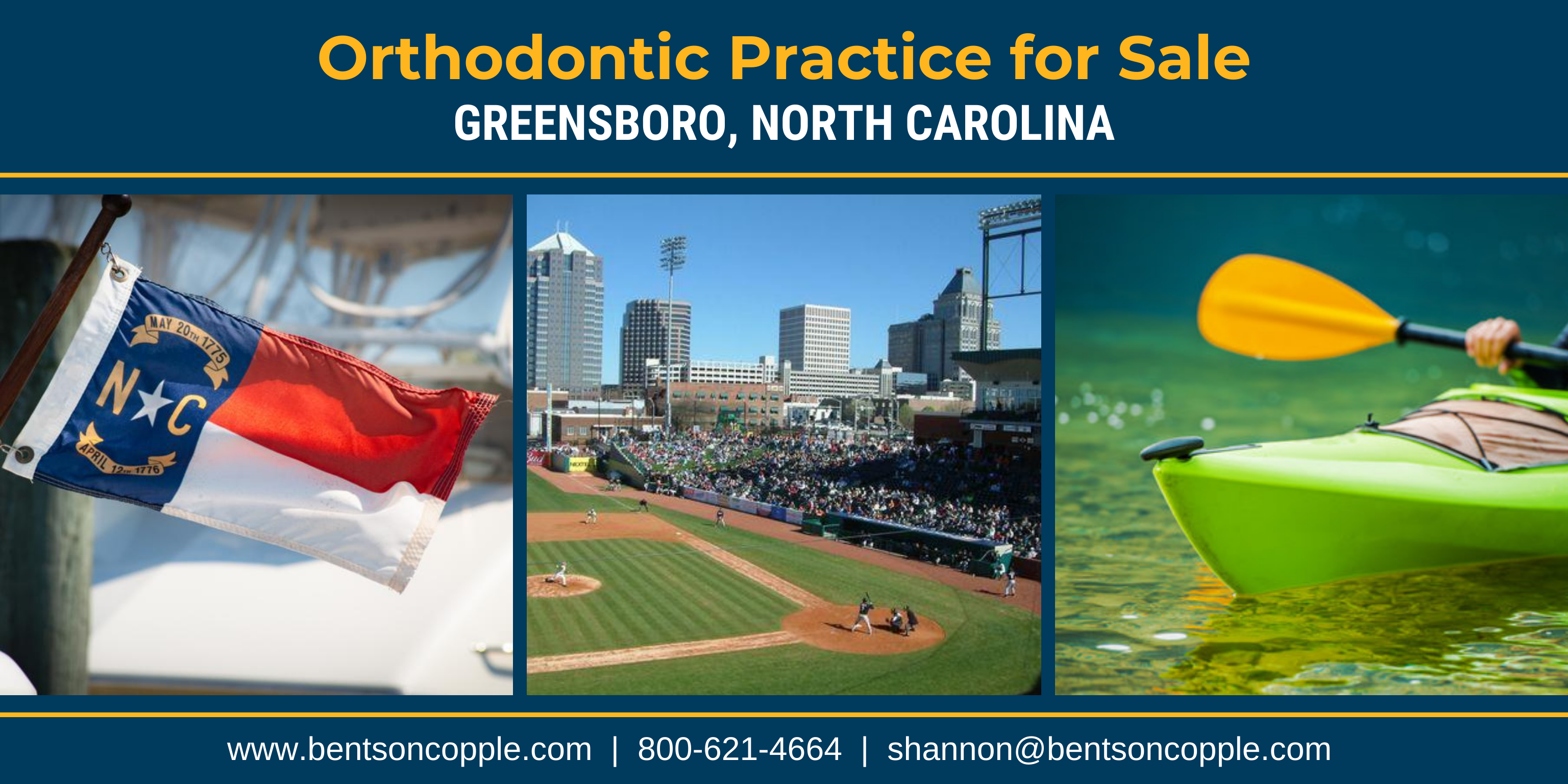 Orthodontic Practice for Sale - Piedmont Triad NC