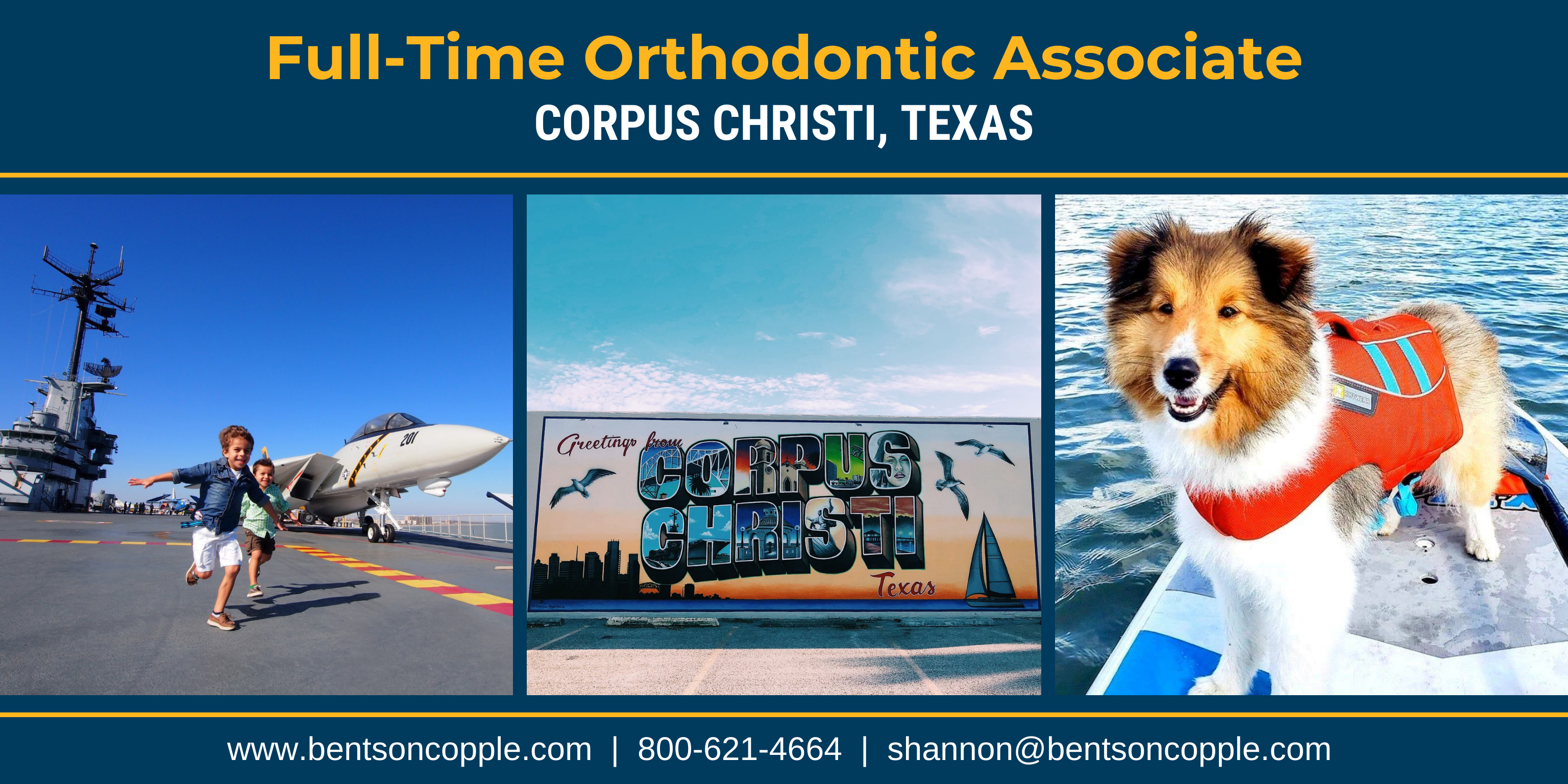 Corpus Christi, Texas - Full-Time Orthodontic Associate