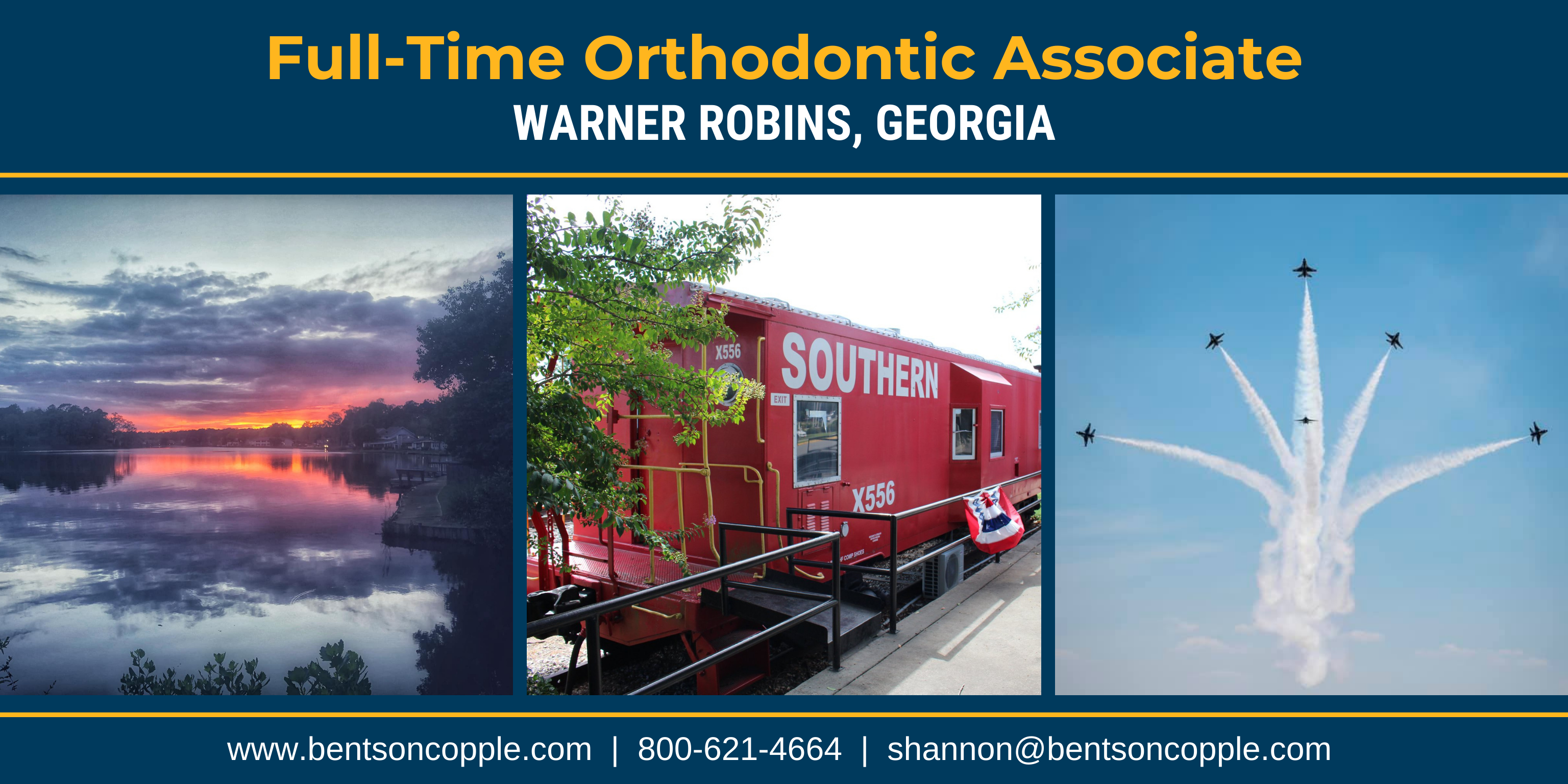 Full-Time Orthodontic Associate - Warner Robins, GA