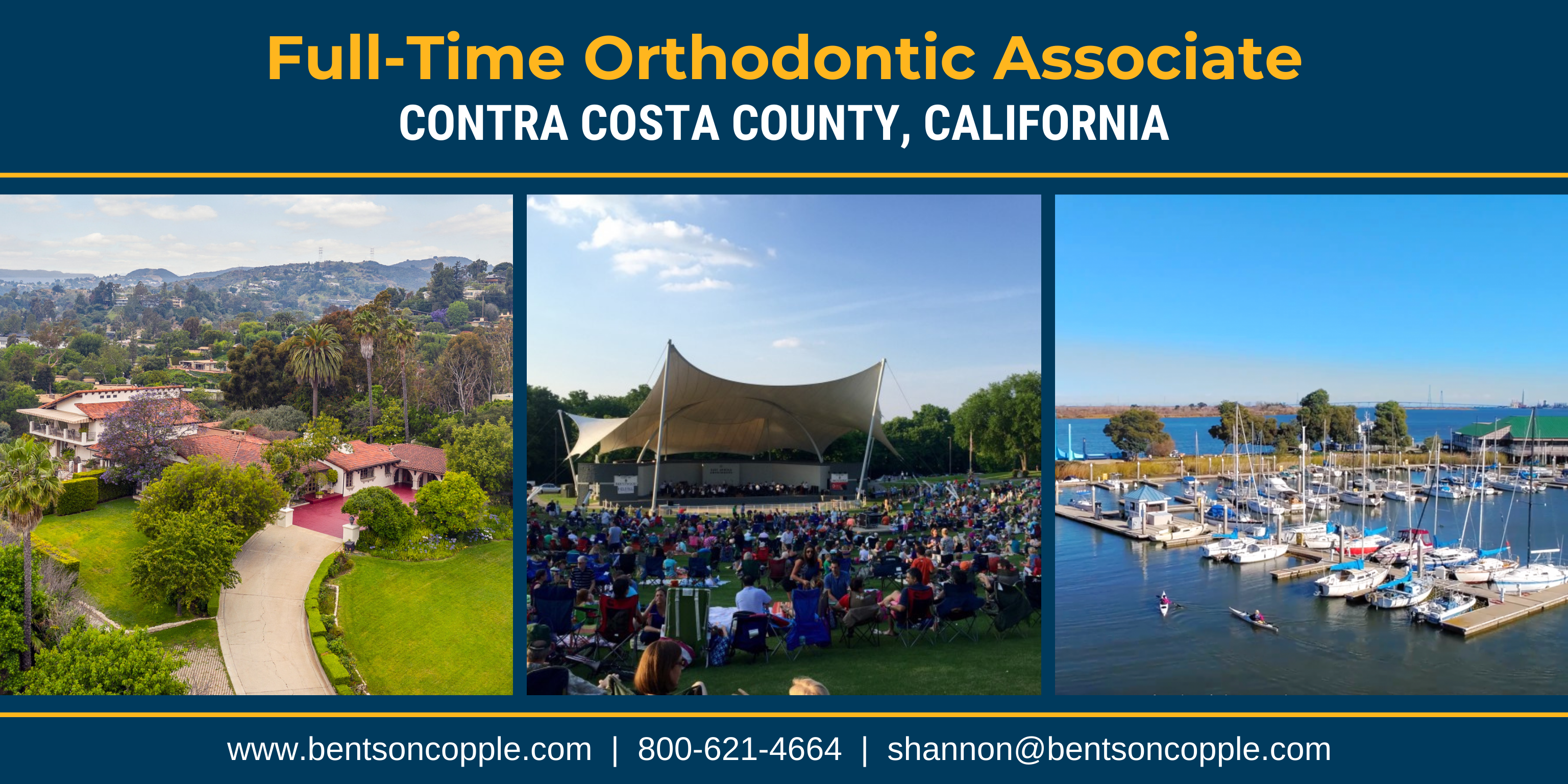 Full-Time Orthodontic Associate Needed in Contra Costa County, California