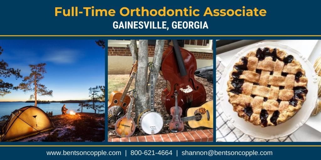 Full-time orthodontic associate career opportunity in Gainesville Georgia