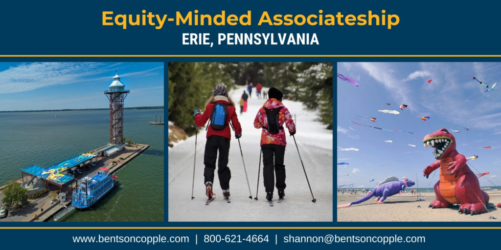 Equity-Minded Associateship in Erie,Pennsylvania
