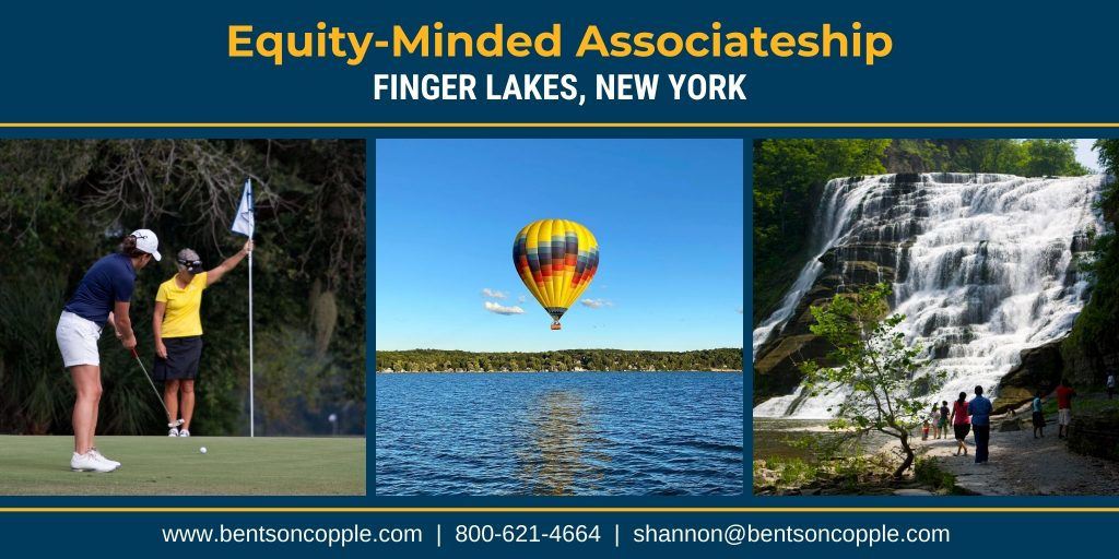 Equity-Minded Associateship in Finger Lakes New York Region