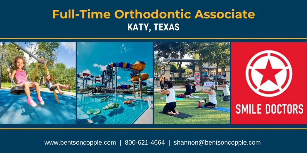Full-time orthodontic career opportunity in Katy, Texas - located outside of Houston.