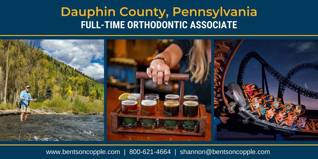 Full-time orthodontic career opportunity in the Hershey Harrisburg Region of Pennsylvania.