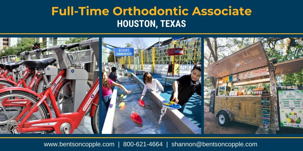 If you are looking to practice orthodontics in a diverse city with lots of social activity, this opportunity is a perfect fit!