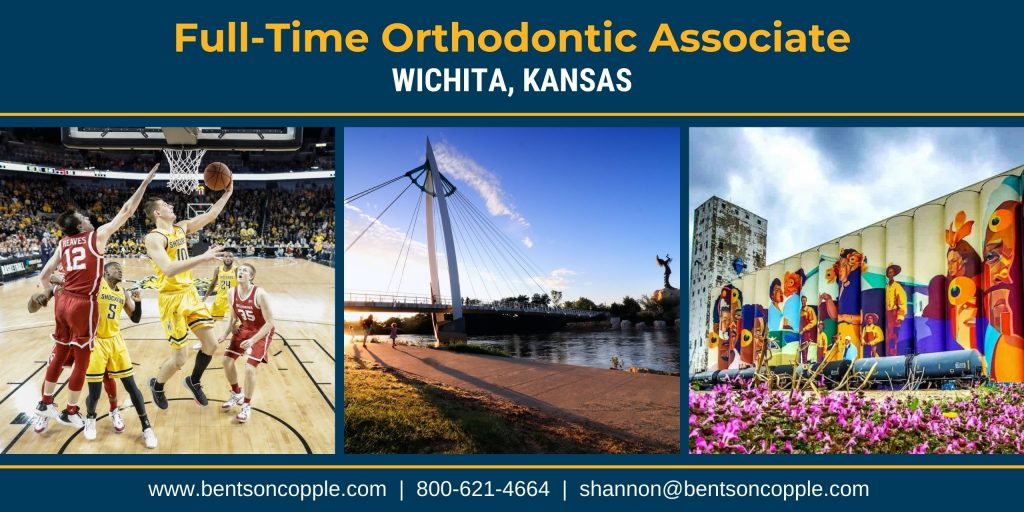An amazing, private orthodontic practice located in Wichita, Kansas, is seeking a full-time associate to join their passionate team.