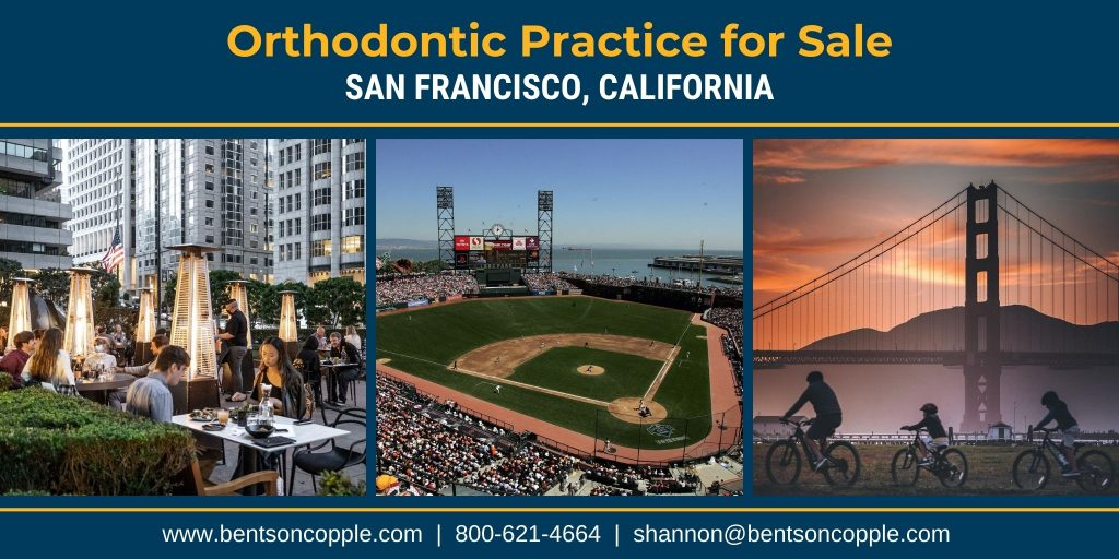 Orthodontic Practice for Sale in San Francisco, California