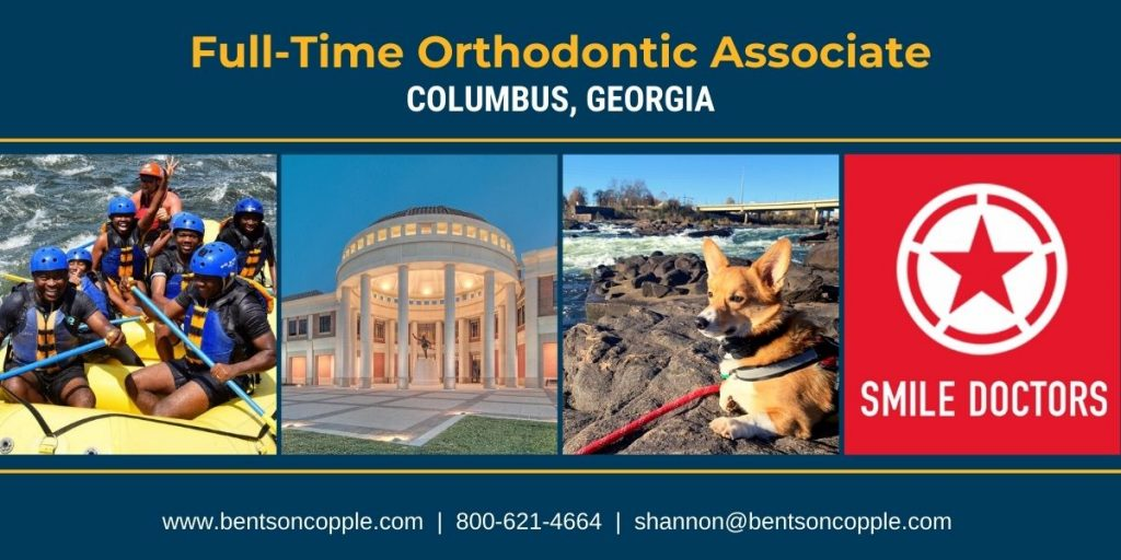 Join a great orthodontic team in Columbus, Georgia, as a full-time orthodontist.