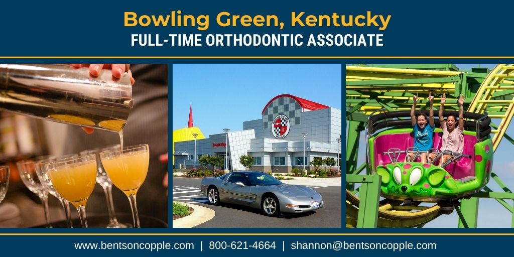 A fantastic orthodontic practice in Bowling Green, KY is seeking a full-time associate orthodontist.