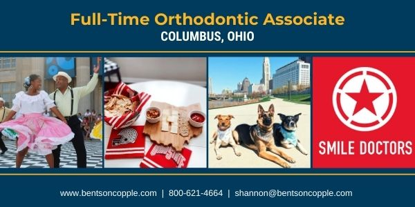Join an incredible team of colleagues as a a full-time orthodontist to join their team in Columbus, Ohio.