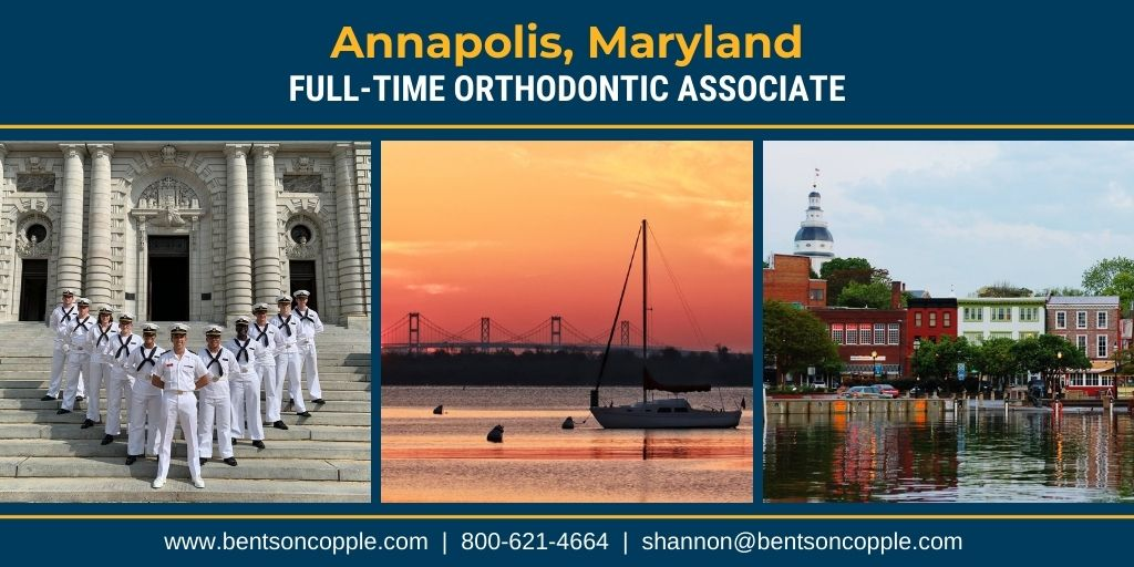 "An amazing orthodontic opportunity with a ""legacy doctor"" is seeking a full-time associate in the Annapolis, Maryland area."
