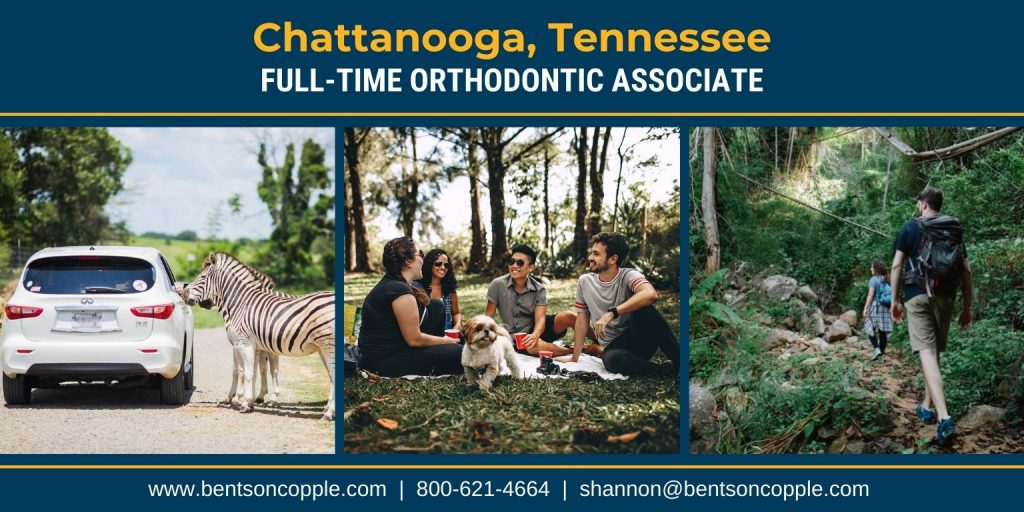A well-established, two-location orthodontic practice located in the Southeastern Region of Tennessee is seeking a motivated full-time orthodontist to join their team.