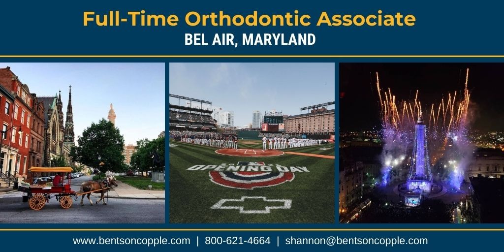 Orthodontic Practice Opportunity in Bel Air, Maryland