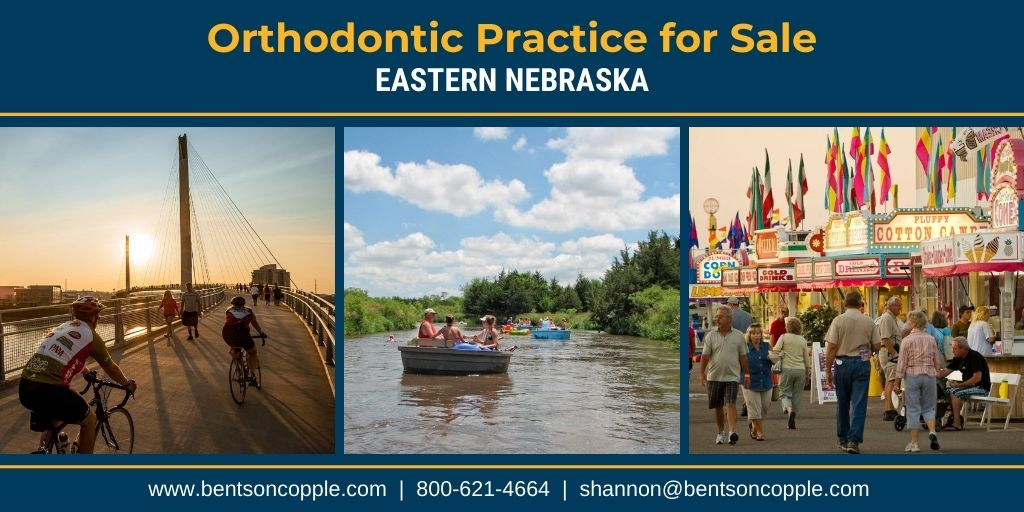 A private, well-established orthodontic practice located in Eastern Nebraska is currently for sale.