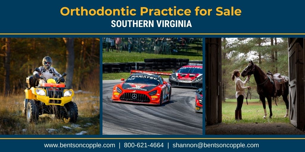 A private, multi-location practice located in Southern Virginia is for sale