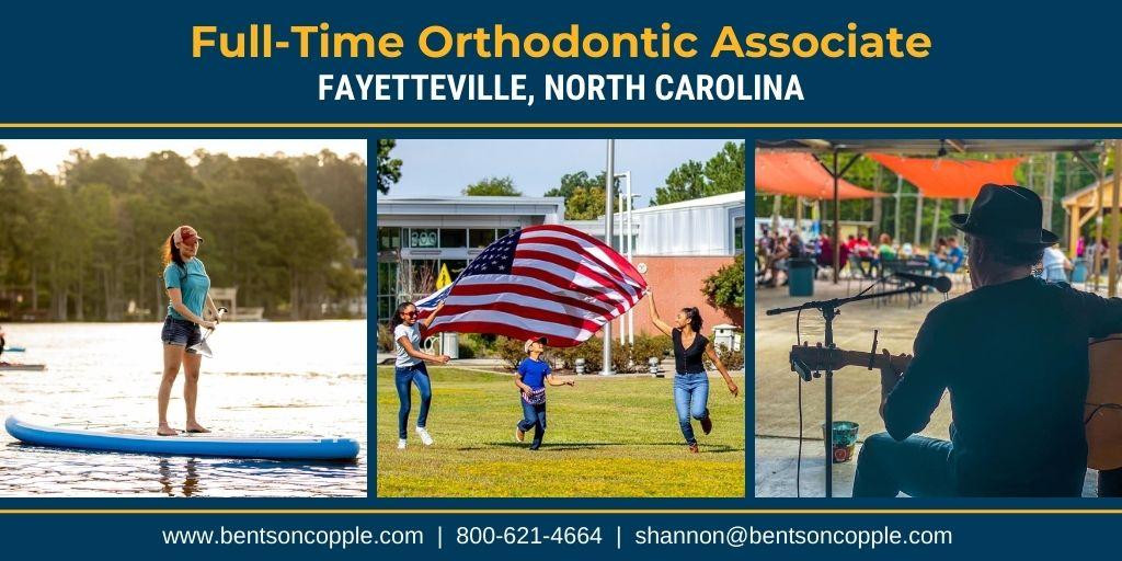 Full-Time Orthodontic Associate Needed in North Carolina