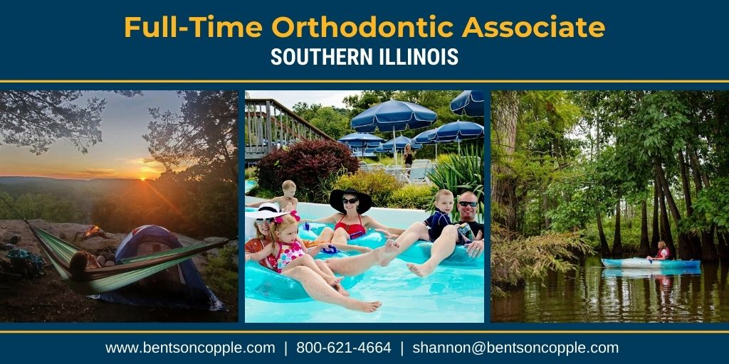 A well-established orthodontic practice located in Southern Illinois is seeking a motivated full-time orthodontist to join their team.